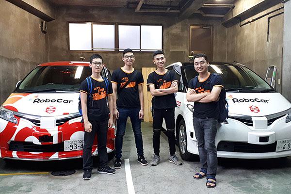 FPT đưa nhóm sinh viên đến Nhật trải nghiệm xe tự hành