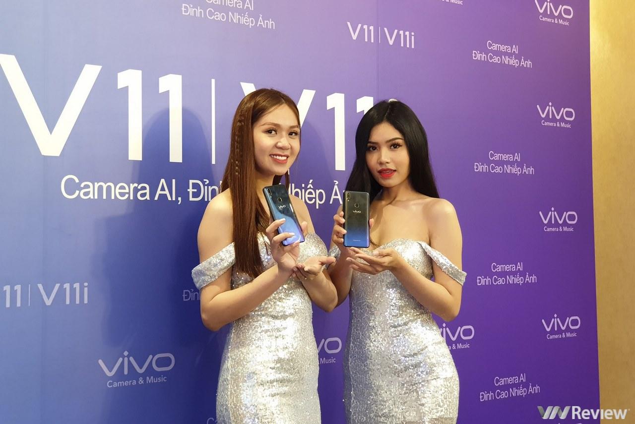 Smartphone vân tay trong màn hình Vivo V11 chính thức ra mắt Việt Nam, giá 10,99 triệu đồng