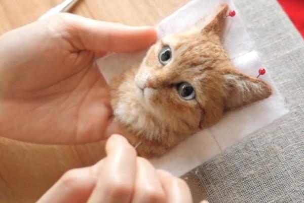 Gặp gỡ nghệ sĩ người Nhật tạo chân dung 3D về loài mèo bằng len chân thực đến khó tin