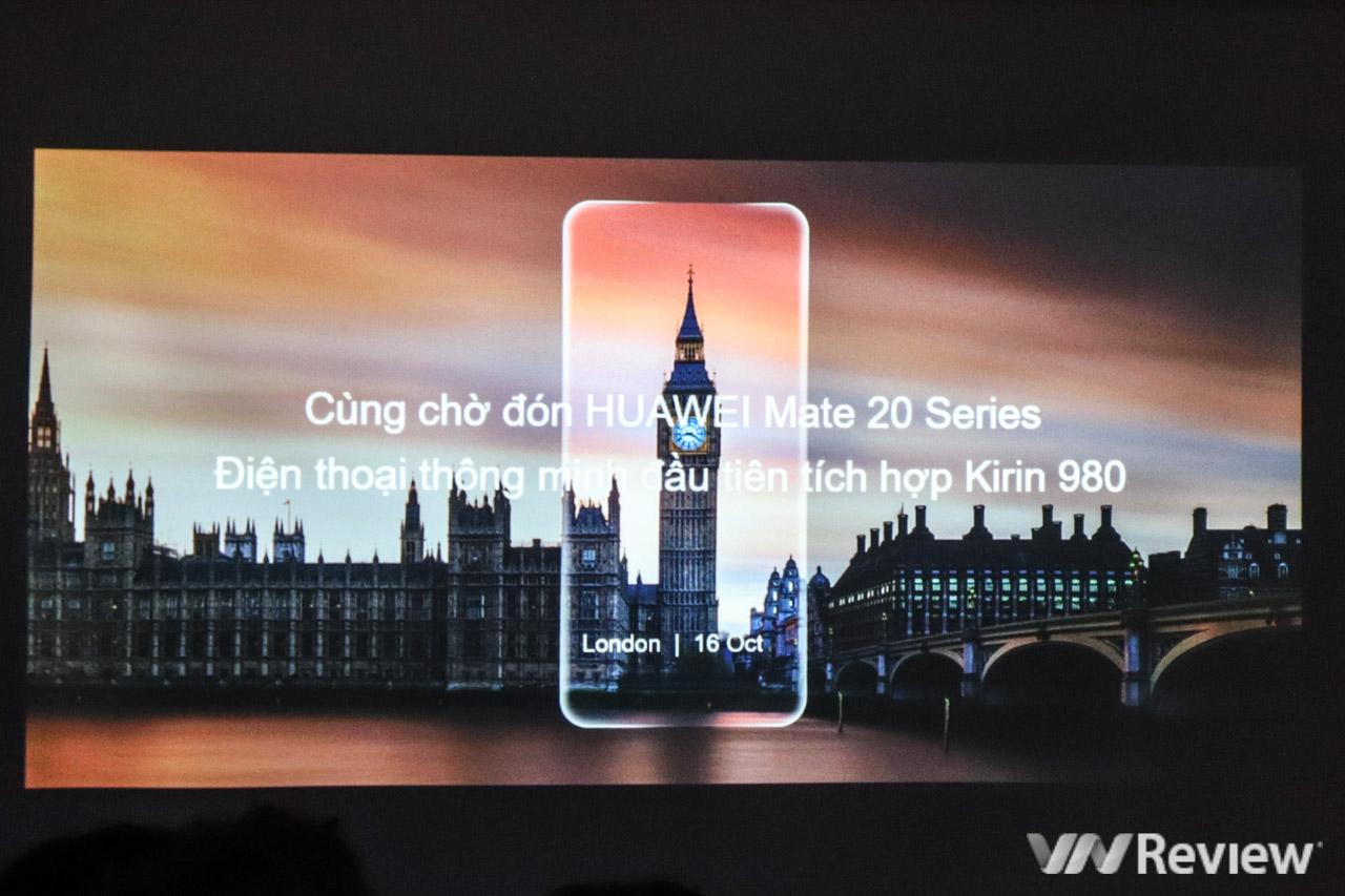 Huawei giới thiệu Kirin 980 tại Việt Nam, hé lộ sẽ bán ra Huawei Mate 20/ Mate 20 Pro