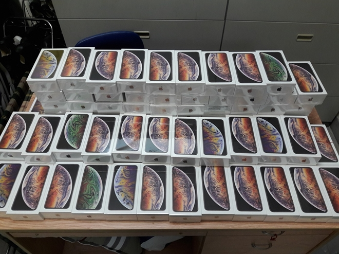 Xử lý hơn 250 iPhone XS trị giá 6,5 tỉ đồng bị tạm giữ như thế nào?