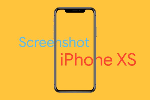 2 cách chụp ảnh màn hình trên iPhone XS, XS Max, và iPhone XR