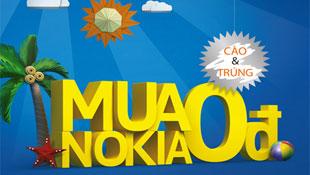 Cơ hội mua điện thoại Nokia giá 0 đồng