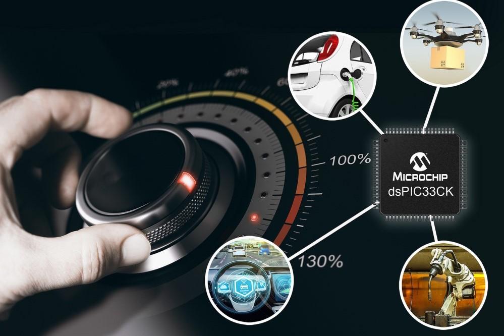 Microchip công bố họ vi xử lý dsPIC33CK, hiệu suất cao, kích thước siêu nhỏ
