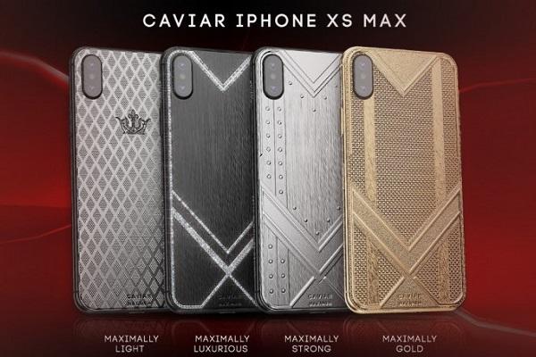 """Caviar ra mắt """"bộ sưu tập"""" iPhone XS Max sang chảnh với 4 tùy chọn vàng, carbon, kim cương, titanium"""