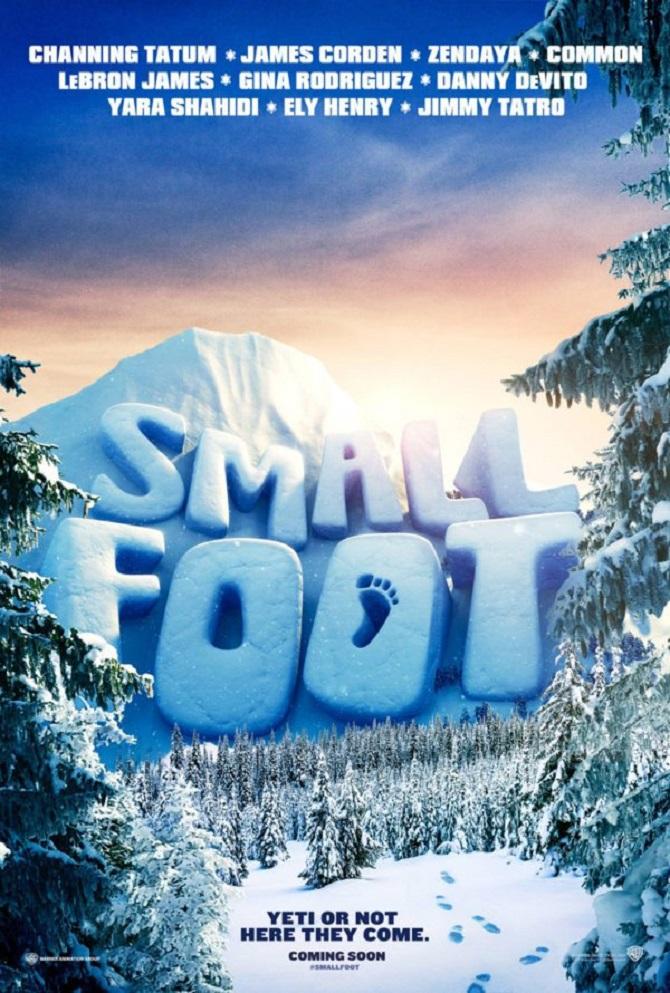 Poster 2 - phim Smallfoot