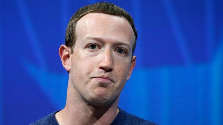 Faceboọk bị sập