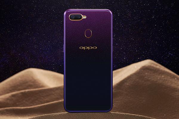 Oppo F9 ở Việt Nam có thêm bản màu tím, bán từ 1/10, giá vẫn là 7,69 triệu đồng