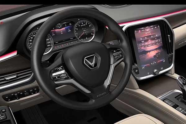 Chi tiết nội thất xe VinFast sắp ra mắt
