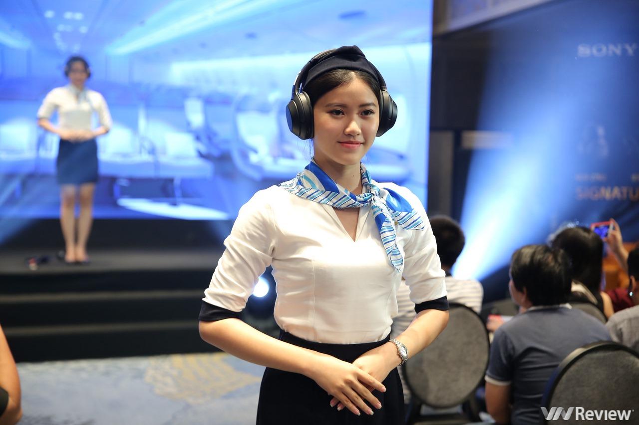 Sony ra mắt tai nghe không dây chuyên chống ồn trên máy bay WH-1000XM3 tại Việt Nam, giá 8,49 triệu đồng