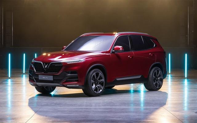 """Xe VinFast - Lux A2.0 và Lux SA2.0 - """"hồn"""" BMW X5 sẽ có giá không rẻ"""