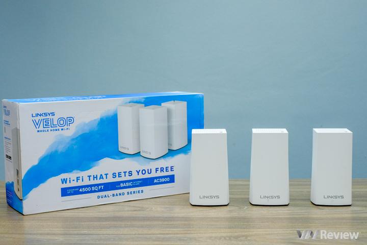 Đánh giá nhanh Linksys Velop AC3900: giải pháp Wifi Mesh giá dễ chịu của Linksys