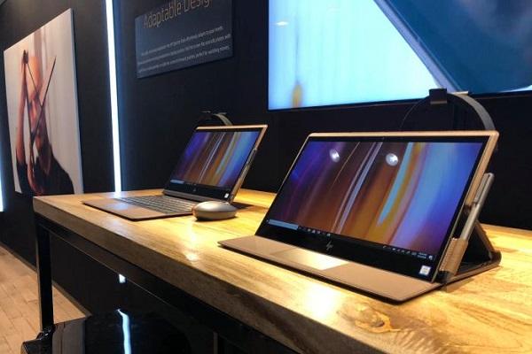 Chán nhôm, nhựa, HP trình làng chiếc laptop làm bằng da thật