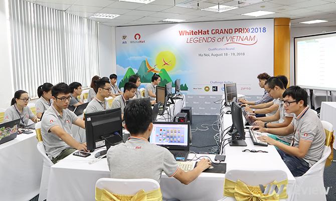 Vòng chung kết WhiteHat Grand Prix 2018 diễn ra vào ngày 1/11