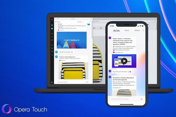 Opera Touch: Trình duyệt di động thú vị cho ai... tay nhỏ