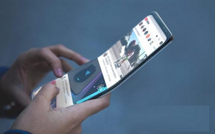 Ý tưởng smartphone màn hình gập