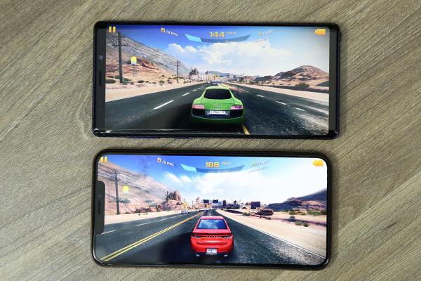 Đọ hiệu năng, so độ mượt game nặng của iPhone XS Max và Galaxy Note 9