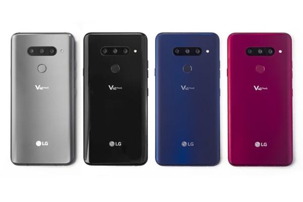 """LG V40 ThinQ chính thức ra mắt: Smartphone """"đại trà"""" đầu tiên có 5 camera"""
