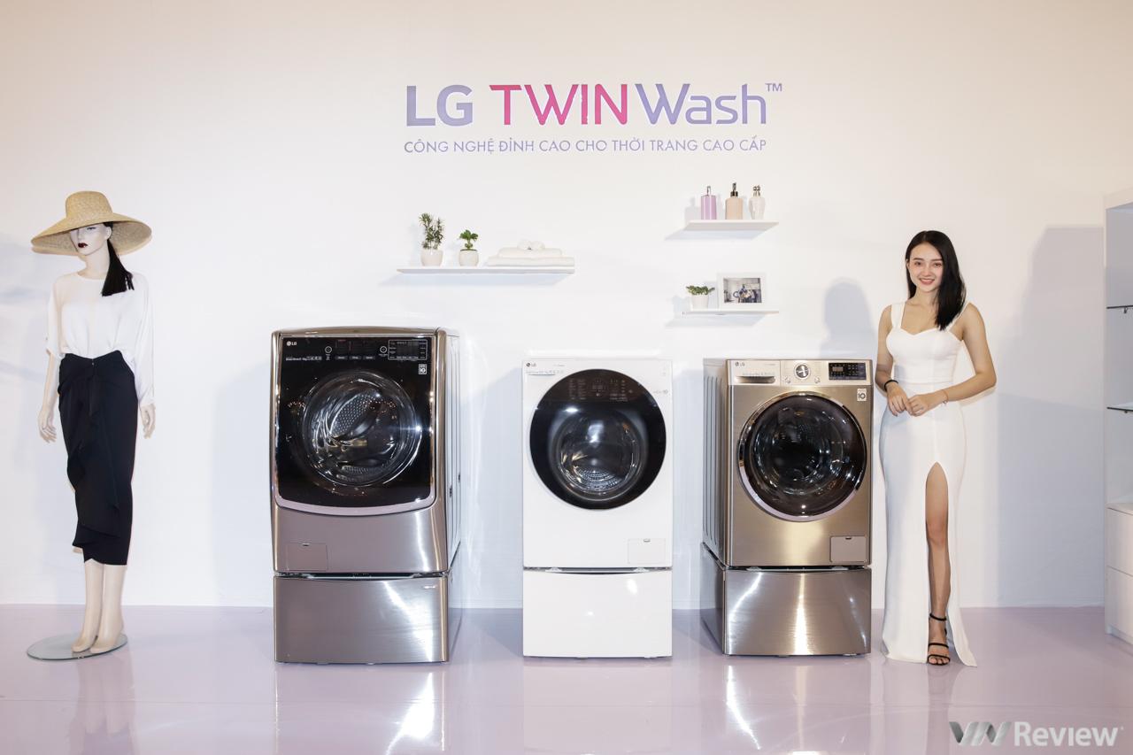 LG giới thiệu các giải pháp giặt ủi cao cấp LG TWINWash và LG Styler tại Việt Nam