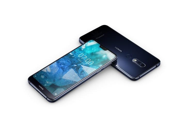 Nokia 7.1 chính thức trình làng: chạy Android One, màn hình HDR
