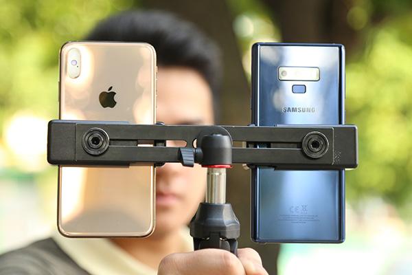 Đọ ảnh xóa phông giấu mặt: iPhone XS Max và Galaxy Note 9