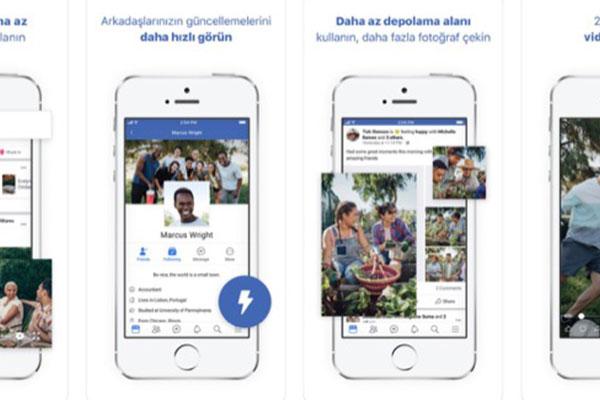 Facebook Lite có phiên bản cho iOS, nặng chưa tới 5MB
