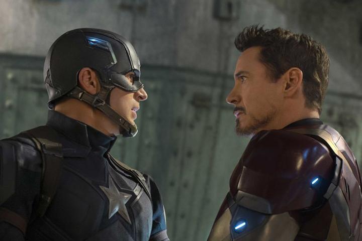 Cap và Iron Man đoàn tụ