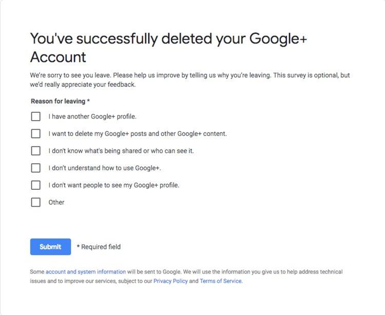 Cách kiểm tra và xóa tài khoản Google+ của bạn