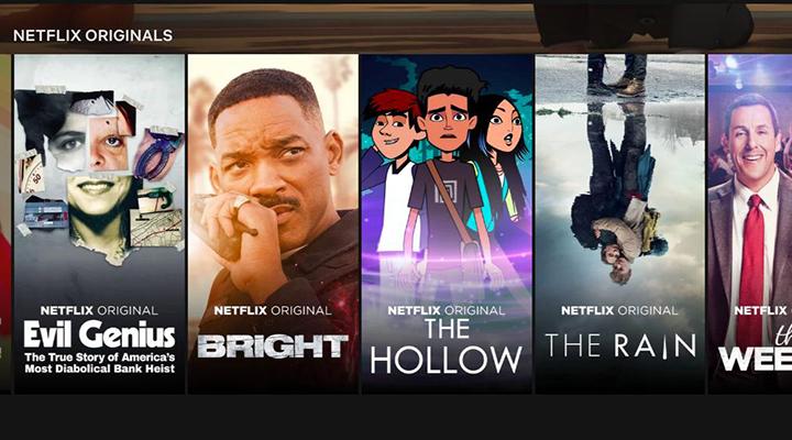 Một số phim tự sản xuất của Netflix