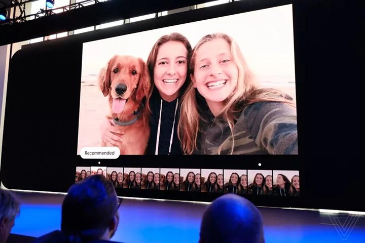 Camera của Pixel 3 với AI sẽ tự động lựa chọn ra những bức ảnh đẹp nhất cho bạn