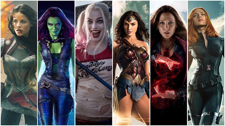 Các nữ siêu anh hùng