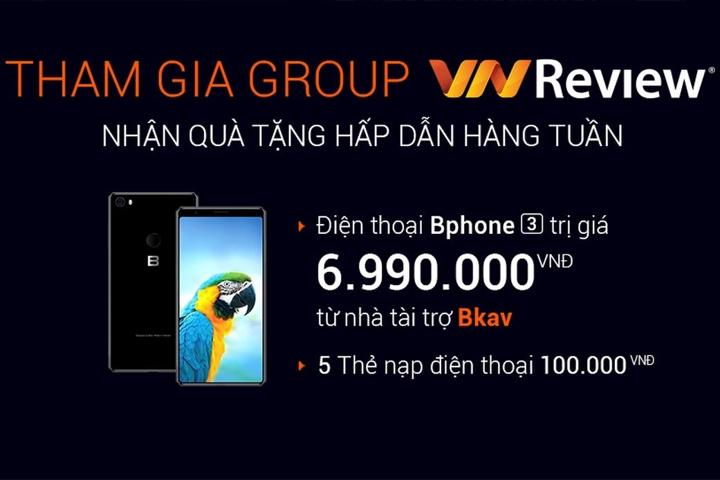 Tặng Bphone 3 cho thành viên Group Facebook VnReview