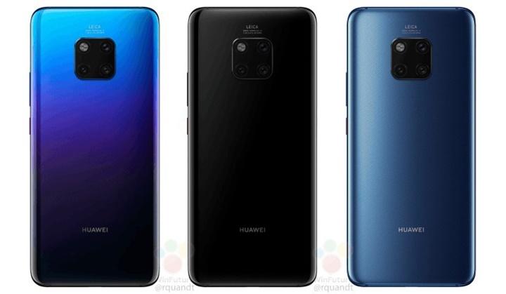 Huawei Mate 20 Pro lộ toàn bộ chi tiết, có cả giá bán tại Anh