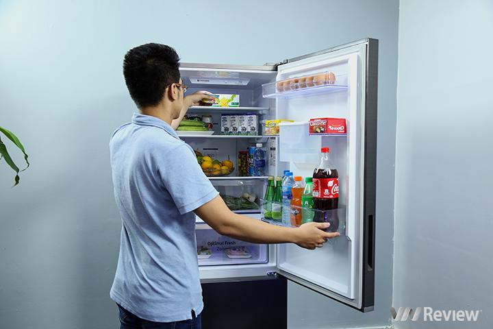 Trên tay tủ lạnh có ngăn đông mềm -1 độ C đầu tiên của Samsung ở Việt Nam