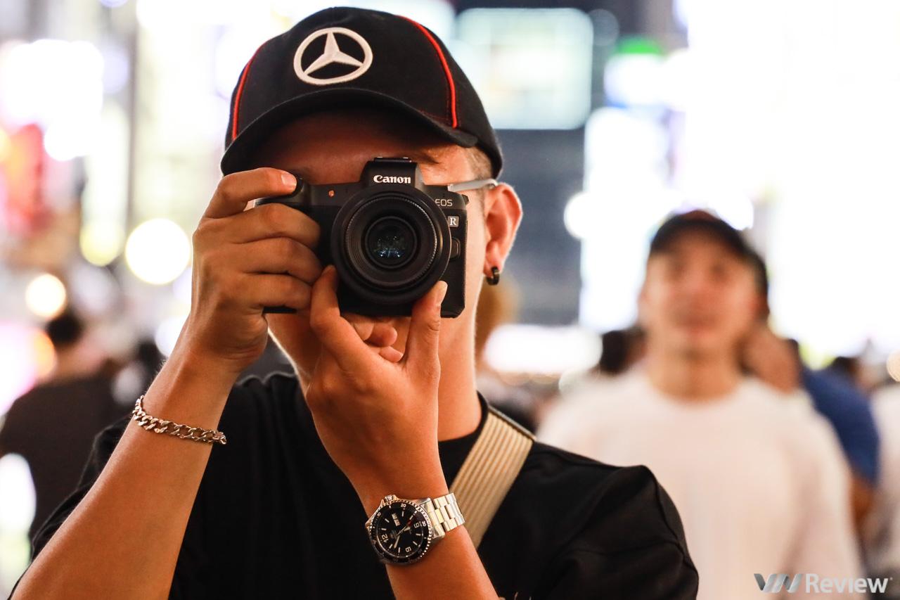 Trải nghiệm nhanh và chụp thử Canon EOS R: tuy lạ mà quen