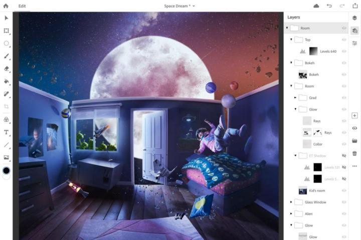 Photoshop CC bản đầy đủ sẽ được mang lên iPad trong năm 2019