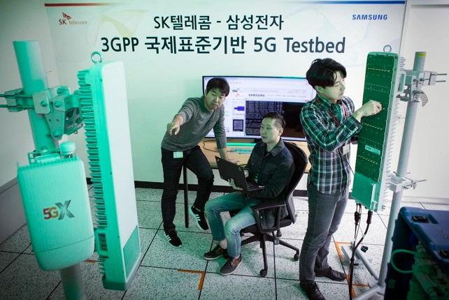 Samsung và SK Telecom đã sẵn sàng triển khai mạng 5G vào tháng 12 năm nay?
