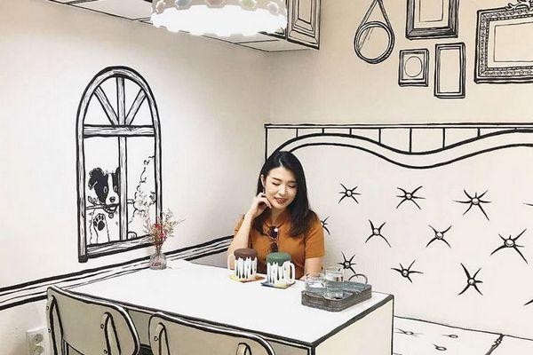 Đến thăm quán cà phê cực dị tại Hàn Quốc khiến bạn như thể lạc trong thế giới truyện tranh