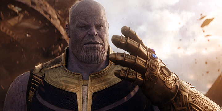 Hạng 1: Thanos - Avengers: Infinity War