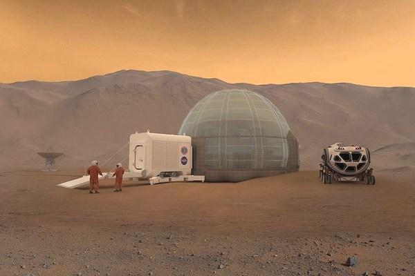 Tham quan căn cứ mô phỏng nơi sinh sống của con người khi lên Sao Hỏa của Trung Quốc