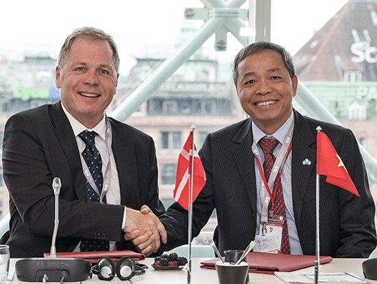 CMC nhắm tới thị trường châu Âu, ký hợp tác với đối tác Đan Mạch