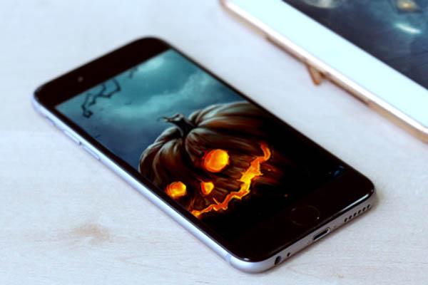 Cách mang không khí Halloween lên smartphone