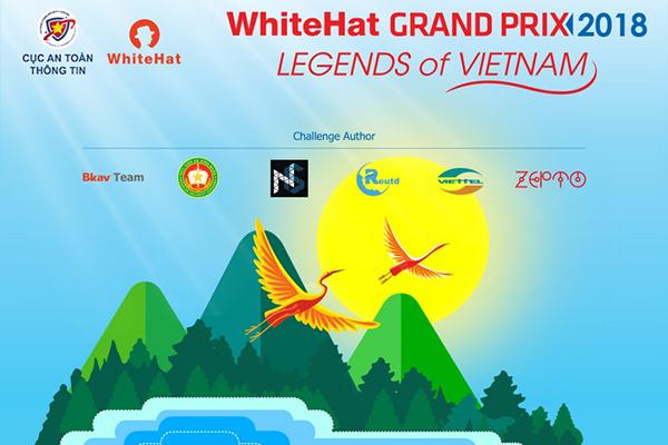 Công bố thể lệ thi đấu vòng chung kết WhiteHat Grand Prix 2018