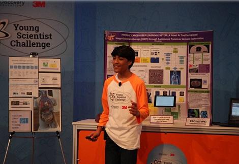Cậu bé 13 tuổi tìm ra thuật toán giúp điều trị ung thư tụy