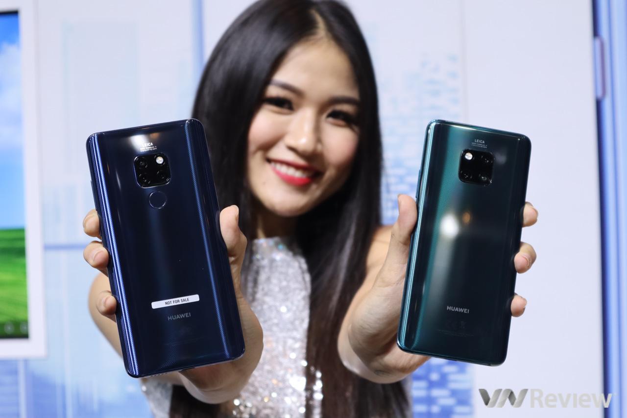 Huawei Mate 20 và Mate 20 Pro chính thức trình làng tại VN, giá 16 và 22 triệu đồng