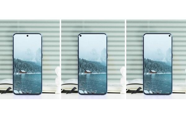 """Samsung """"nhá hàng"""" chiếc A8s chỉ có một lỗ camera ở mặt trước"""