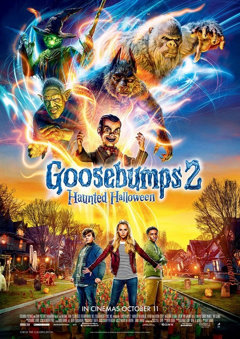 'Goosebumps 2': Bữa tiệc Halloween 'sống động' mang màu sắc Disney vui nhộn