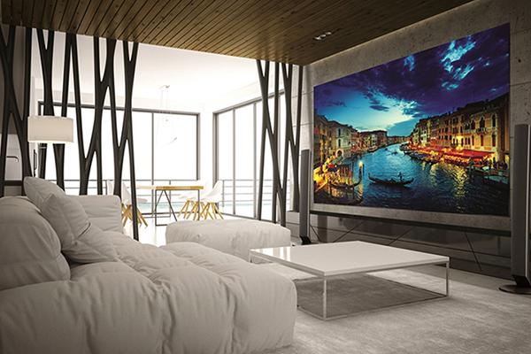 Samsung ra mắt màn hình LED cho gia đình và trung tâm thương mại ở VN