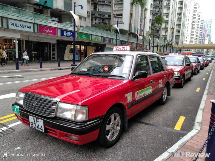 Ảnh chụp Hong Kong với Bphone 3