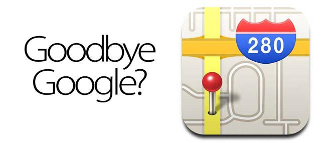 Apple từ bỏ Google Maps: mất mát lớn với Google